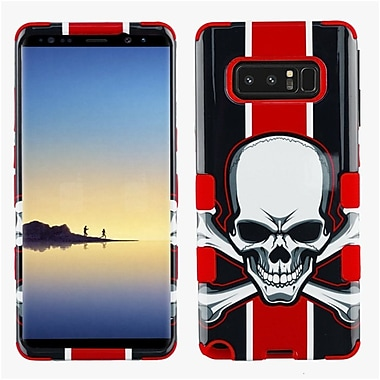 Insten Tuff Union Jack Skull Dual Layer Hybrid PC/TPU Rubber Case Cover for Samsung Galaxy Note 8 - Multicolor