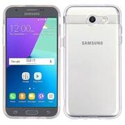 Insten Glassy Transparent SPOTS TPU Gel Case For Samsung Galaxy Amp Prime 2/Express Prime 2/J3 (2017)/J3 Emerge - Clear