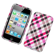 Insten Checker Hard Snap-in Protective Back Case Cover For Apple iPod Touch 4th Gen - Multi-Color