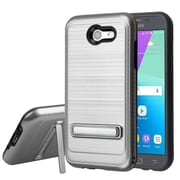 Insten Case For Samsung Galaxy Amp Prime 2/Express Prime 2/J3(2017)/Eclipse/Emerge/Luna Pro/Mission/Prime/Sol 2 - Silver