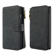 Insten Detachable Magnetic Flip Leather Wallet Pouch Case Cover For Apple iPhone 6 / 6s - Black