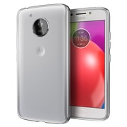 Insten TPU Rubber High Quality Crystal Candy Skin Case Cover for Motorola Moto E4 - Clear