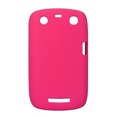 Insten SIlicone Skin Back Soft Rubber Gel Case Cover For BlackBerry Curve 9350 / 9360 - Hot Pink