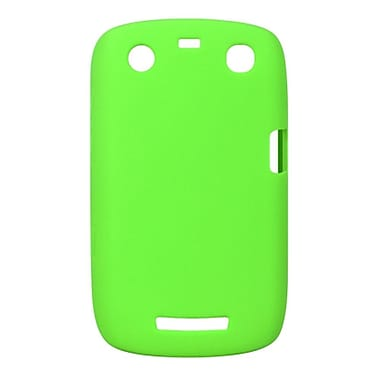 Insten SIlicone Skin Back Soft Rubber Gel Case Cover For BlackBerry Curve 9350 / 9360 - Green