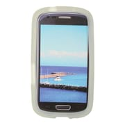 Insten SIlicone Skin Back Soft Rubber Gel Case Cover For Samsung Galaxy Axiom - Clear