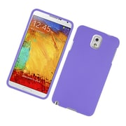Insten Rubberized Hard Snap On Protective Case Cover For Samsung Galaxy Note 3 - Purple