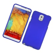 Insten Rubberized Hard Snap On Protective Case Cover For Samsung Galaxy Note 3 - Blue