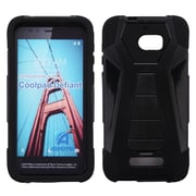 Insten Inverse Advanced Armor Dual Layer Hybrid Stand PC/TPU Case For Coolpad Defiant - Black