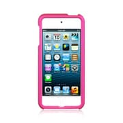 Insten Rubberized Hard Snap On Back Protective Case Cover For Apple iPod Touch 5th Gen / 6th Gen - Hot Pink