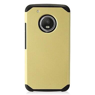 Insten Hard Hybrid Plastic Cover Case For Motorola Moto G5 Plus - Gold