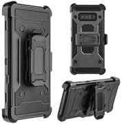 Insten Dual Layer Hybrid Stand PC/TPU Rubber Holster Case Cover for Samsung Galaxy Note 8 - Black (2380322)