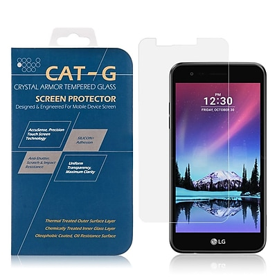 Insten 0.33mm Arcing Clear Tempered Glass Screen Protector For LG K8 (2017)