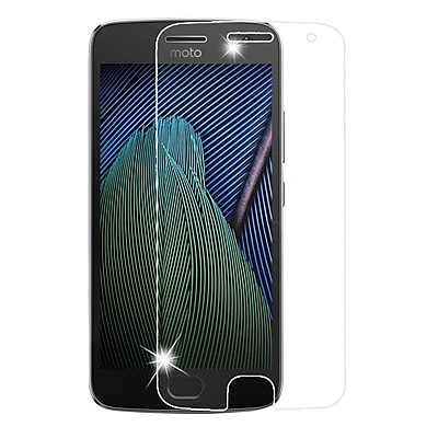 Insten 2.5D Clear Tempered Glass Screen Protector For Motorola Moto G5 Plus / X (2017)