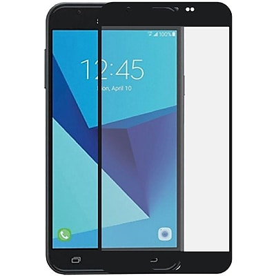 Insten Black Edged Boundary Tempered Glass Screen Protector Package For Samsung Galaxy J7 (2017)/J7 Perx/J7 Sky Pro/J7 V