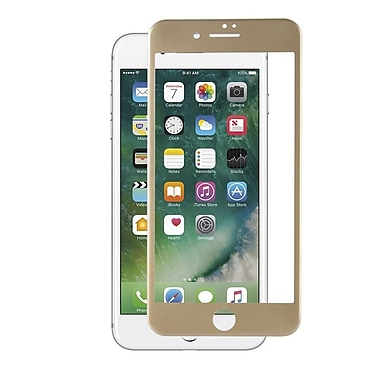 Insten Tempered Glass Screen Protector LCD Film For Apple iPhone 7 Plus/ 8 Plus, Gold