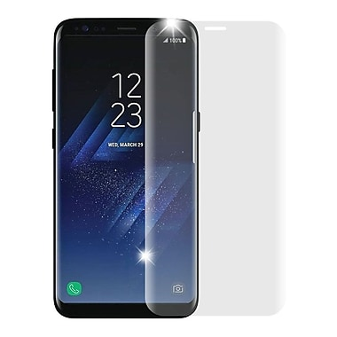 Insten Full Coverage Tempered Glass Screen Protector For Samsung Galaxy S8 Plus - Clear