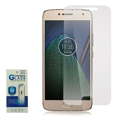 Insten Highly Durable 0.33mm 2.5D 9H Hardness Tempered Glass Screen Protector For Motorola Moto G5 Plus - OEM - Clear