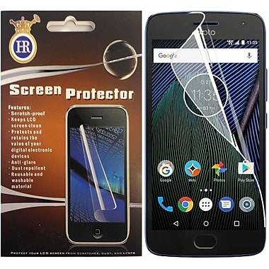 Insten Clear Transparent Screen Protector LCD Film Guard For Motorola Moto G5 Plus