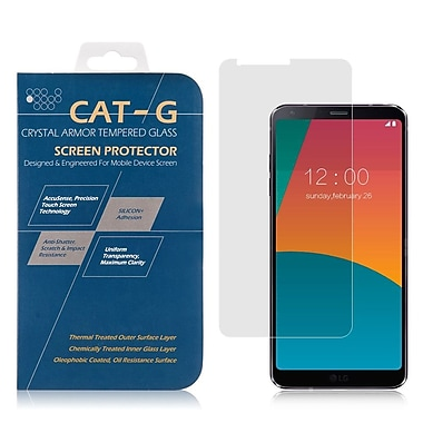 Insten Highly Durable 0.33mm Clear Tempered Glass Screen Protector 9H Hardness Anti-fingerprint For LG G6
