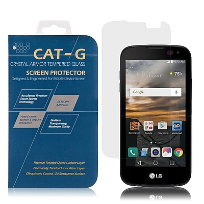 Insten Highly Durable 0.33mm Clear Tempered Glass Screen Protector 9H Hardness Anti-fingerprint For LG K3 (2016)