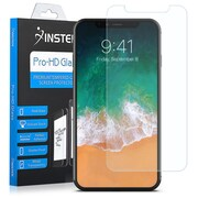 Insten Clear Tempered Glass Full Coverage Edge to Edge Screen Protector Guard Film for Apple iPhone X (2380642)