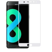 Insten Clear Full Coverage Tempered Glass Screen Protector Guard Film for Samsung Galaxy S8 Plus S8+ - White