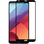 Insten Black Boundary Tempered Glass Screen Protector LCD Film For LG G6