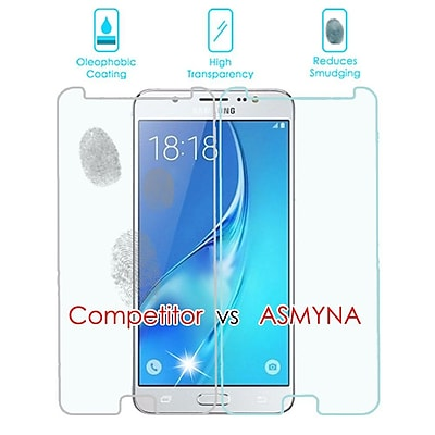 Insten 6-Pack 2.5D Tempered Glass Screen Protector Film For Galaxy J7 (2017)/J7 Perx/J7 Sky Pro/J7 V/On7 (2016)