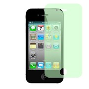 Insten Anti-Scratch Screen Protector LCD Film Guard For Apple iPhone 4 / 4S - Green