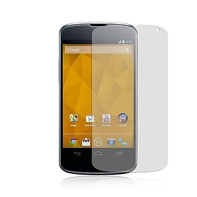 Insten Anti-Scratch Clear Screen Protector LCD Film Guard For LG Google Nexus 4 E960