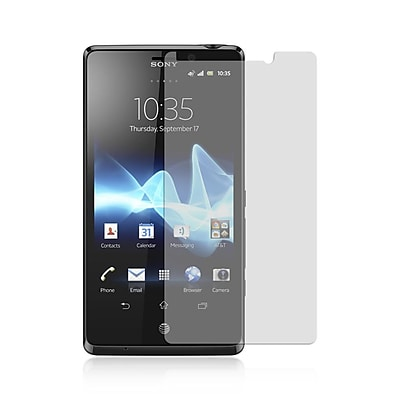 Insten Anti-Scratch Clear Screen Protector LCD Film Guard For Sony Xperia TL