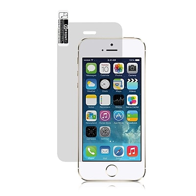 Insten 0.3mm Clear Tempered Glass Screen Protector For Apple iPhone 5 / 5S
