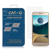 Insten 0.33mm Clear 9H hardness Tempered Glass Screen Protector Guard Film for Motorola Moto E4 (2376887)