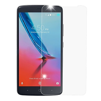 Insten 2.5D Highly Durable 9H Hardness Tempered Glass Screen Protector For ZTE Blade Max 3 / Max XL N9560 - Clear