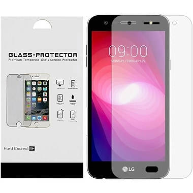 Insten 9H Hardness Bulk White Paper Card Package Tempered Glass Screen Protector For LG X Power 2 - Clear