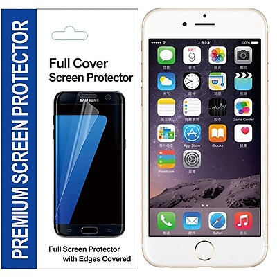Insten Clear TPU LCD Screen Protector Film Cover For Apple iPhone 6/6s