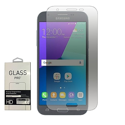 Insten 2.5D 0.33mm Clear Tempered Glass Screen Protector For Samsung Galaxy Amp Prime 2/J3 (2017)/J3 Emerge