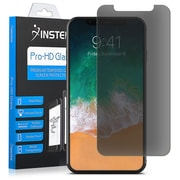 Insten Premium Privacy Edge to Edge 9H Hardness Tempered Glass Screen Protector Guard Film for Apple iPhone X
