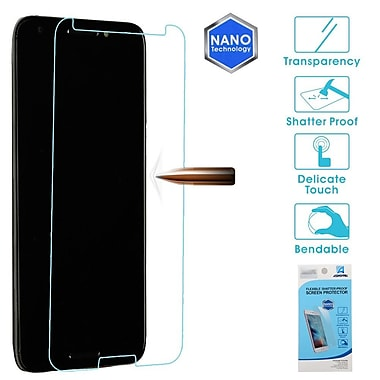 Insten Clear Plastic Flexible Anti-Shatter Screen Protector Guard Film for Alcatel A30/A30 Fierce (2017)