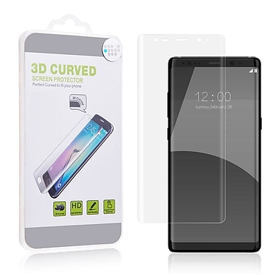 Insten Clear Full Coverage Screen Protector Guard Film for Samsung Galaxy Note 8