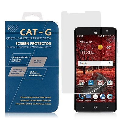 Insten 0.33mm Arcing Clear Tempered Glass Screen Protector For ZTE Grand X 4