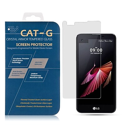 Insten 0.33mm Arcing Clear Tempered Glass Screen Protector For LG X STYLE