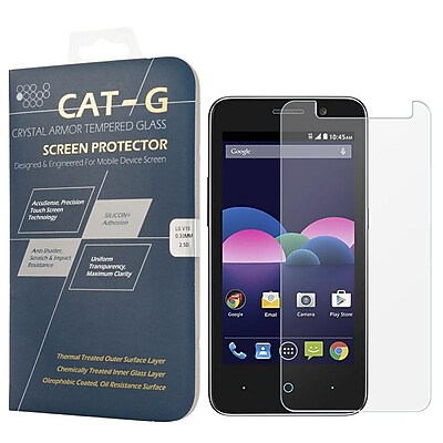 Insten 0.33mm Arcing Clear Tempered Glass Screen Protector For ZTE Obsidian