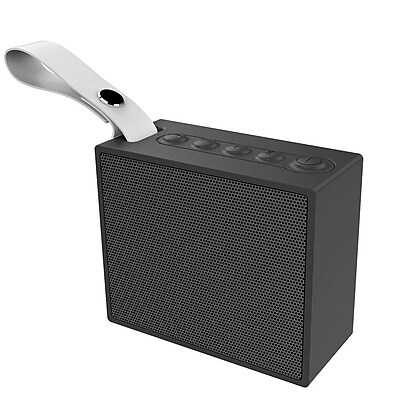 Insten Rechargeable IPX6 Waterproof Outdoor Mini Wireless Bluetooth 4.2 Speaker w/Selfie Mic for iPhone Samsung - Black