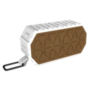 Insten Waterproof Rechargeable IPX6 Wireless Bluetooth 4.2 Outdoor Sports Speaker w/Mic for iPhone Samsung - White