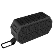 Insten Waterproof Rechargeable IPX6 Wireless Bluetooth 4.2 Outdoor Sports Speaker w/Mic for iPhone Samsung - Black