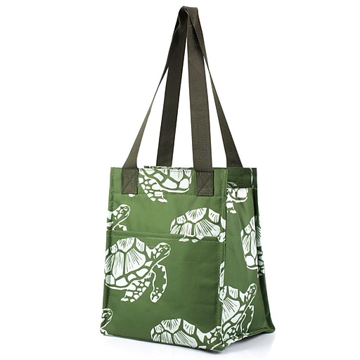 Zodaca Insulated Lunch Bag Cooler Picnic Travel Food Box Women Tote Zipper  Carry Bags - Turtle  50deae6236