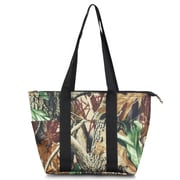 Zodaca Fashion Large Insulated Zip Lunch Bag Women Tote Cooler Picnic Travel Food Box Carry Bags - Natural Camoflague