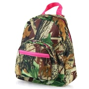 Zodaca Kids Small Travel Backpack Girls Boys Bookbag Shoulder Children's School Bag for Outside Activity - Natural/Pink