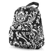Zodaca Kids Small Travel Backpack Girls Boys Bookbag Shoulder Children's School Bag for Outside Activity - Damask